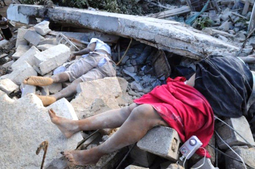 画像:ハイチ大地震